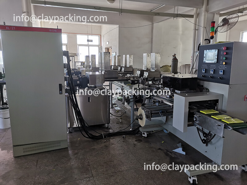 12 Colors Modeling Clay Extruding,Cutting,Packing machine