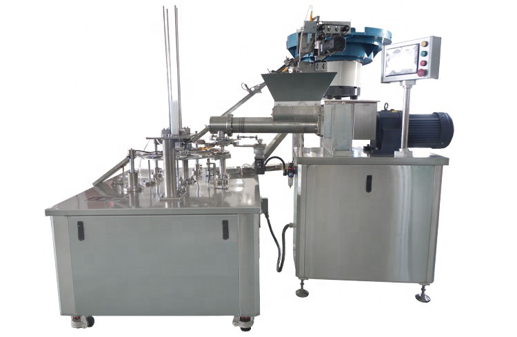 Cup Filling And Capping Machine