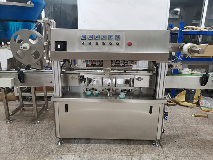 High Speed Cup Film Sealing Machine