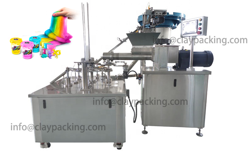 Slime Cup Filling And Capping Machine